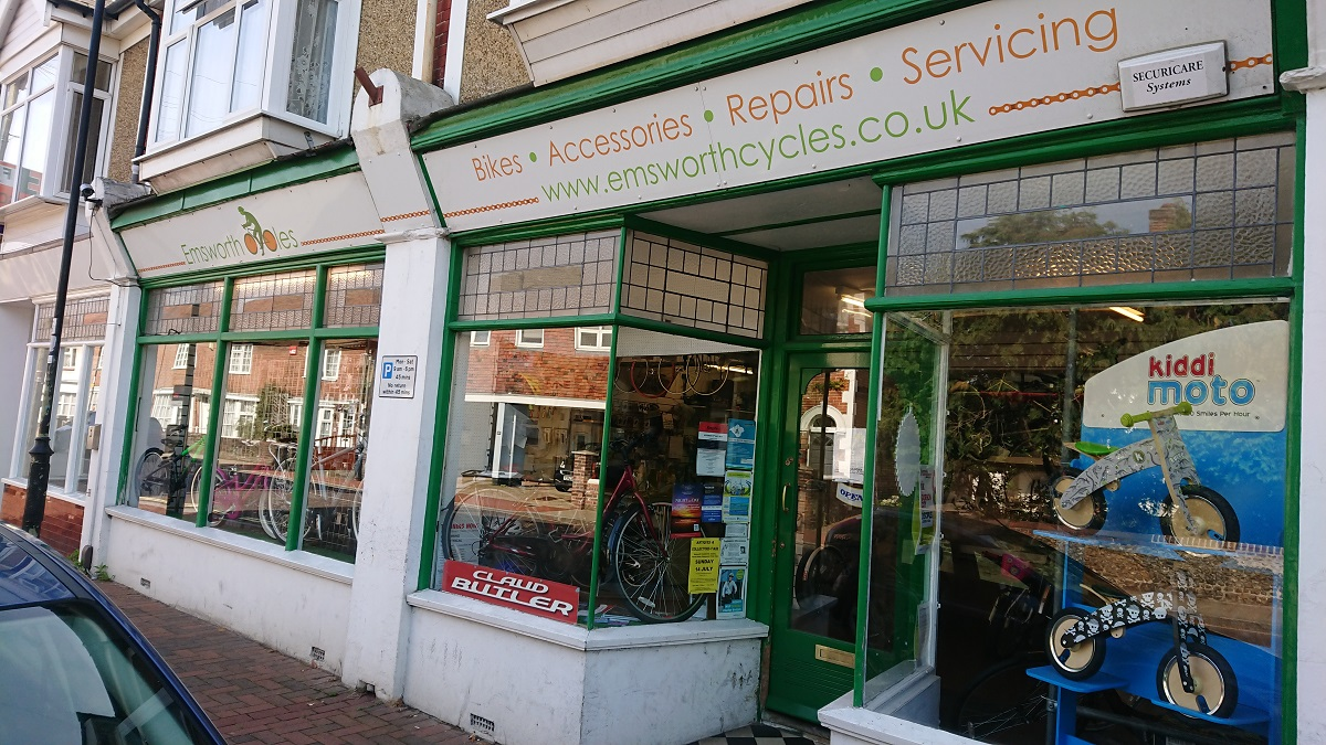 Emsworh Cycles - Bike repairs Emsworth Hampshire