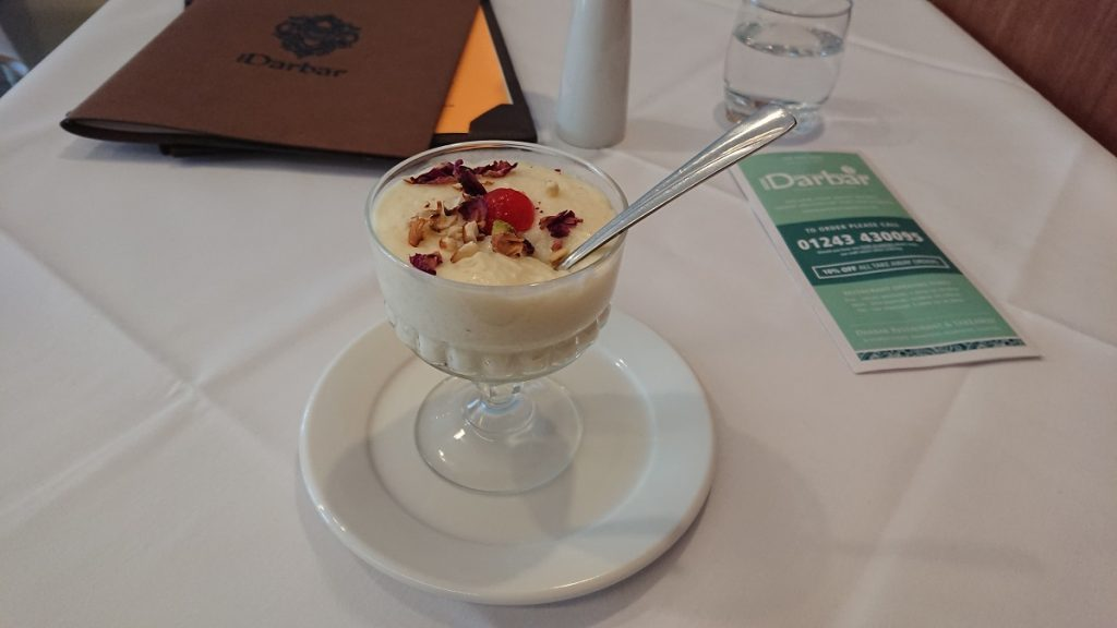 Authentic Indian rice pudding South Coast