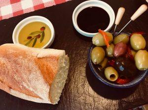 Sharing platters bread board