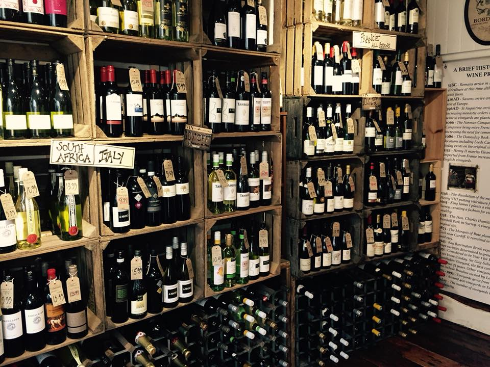 Wine merchants on the South Coast