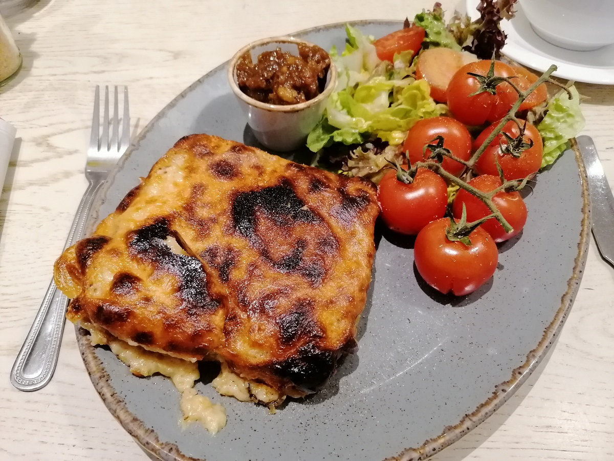 Welsh rarebit Driftwood Cafe Emsworth