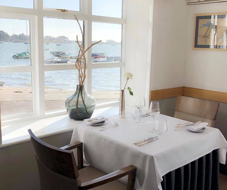 Restaurants on the south coast with sea views, Emsworth, Hampshire the English South Coast
